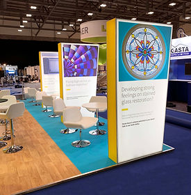 Specialist Fabric Graphic Lightbox Production for Aviva by Image Display & Graphics