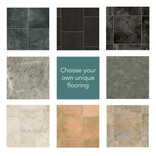 Stone Vinyl Premium Garden Room Flooring to Your Choice