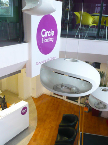 Interior Design and Graphics for Circle Housing