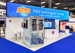 RB Switchgear Custom Exhibition Stand by Image Display Testimonial