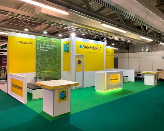 Custom Exhibition Stand Design and Build Barenbrug BTME 2019