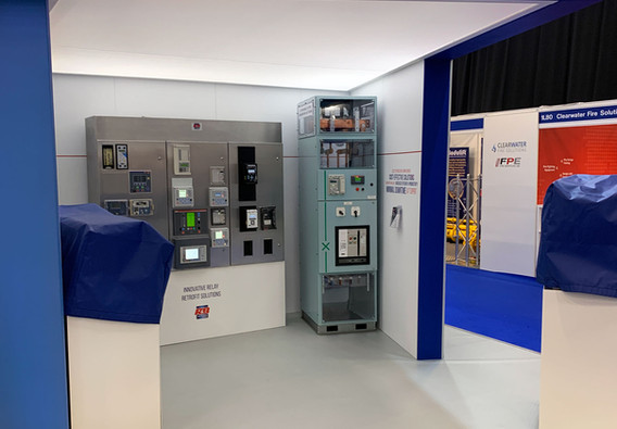 Custom Exhibition Stand Product area RB Switchgear OE 2019