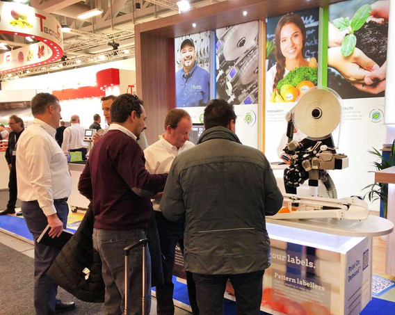 Product Demonstartion on Sinclair Exhibition Stand Fruit Logistica 2019