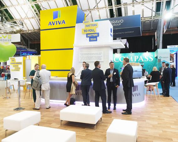Large Exhibition Stand Meeting Space Aviva BIBA 2019