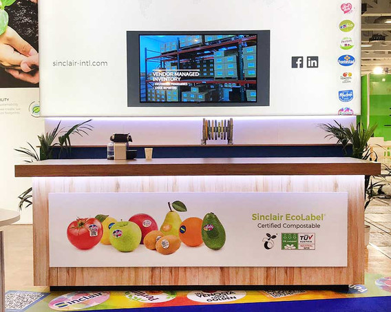 Custom Exhibition Stand Bar Sinclair at Fruit Logistica 2019