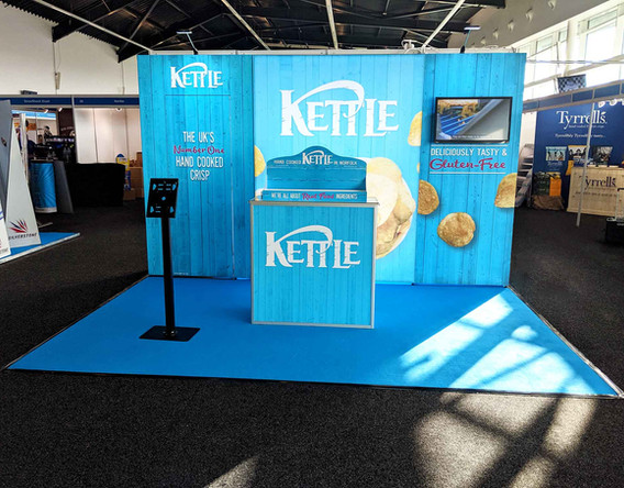 Kettle Chips Modular Exhibition Stand Kit 2019