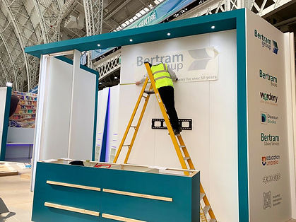 Exhibition Stand Installation and Build