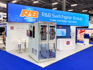 Custom Exhibition Stand - R&B Switchgear at OE 2019