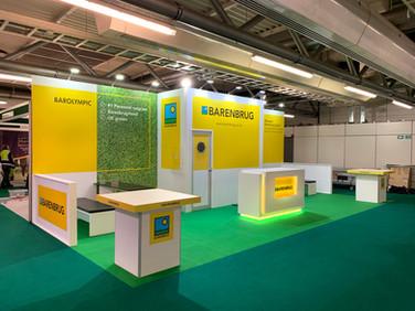 Custom Exhibition Stand - Barenbrug at BTME 2019
