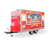 Trailer Graphics and Fit Out for Walkerswood Caribbean Foods