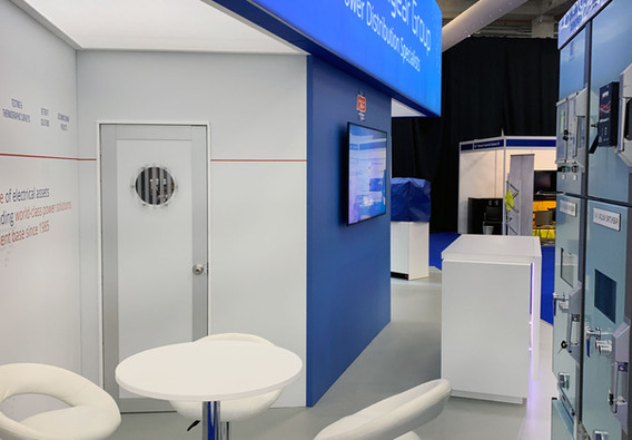 Exhibition Stand Meeting Area RB Switchgear OE 2019