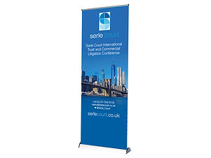 Premium Roll Up Banner with graphics Image Display Norwich