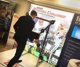 Racing Themed Brand Experience by Image Display & Graphics Norwich