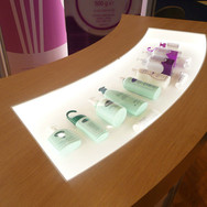 Customised Counter Unit with Integrated Product Display