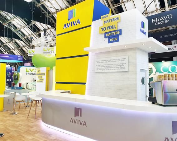Custom Exhibition Stand Tower Aviva at BIBA 2019
