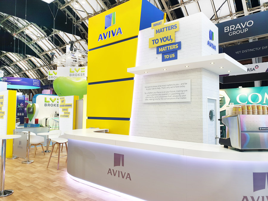 Custom Exhibition Stand Tower Aviva at BIBA 2019
