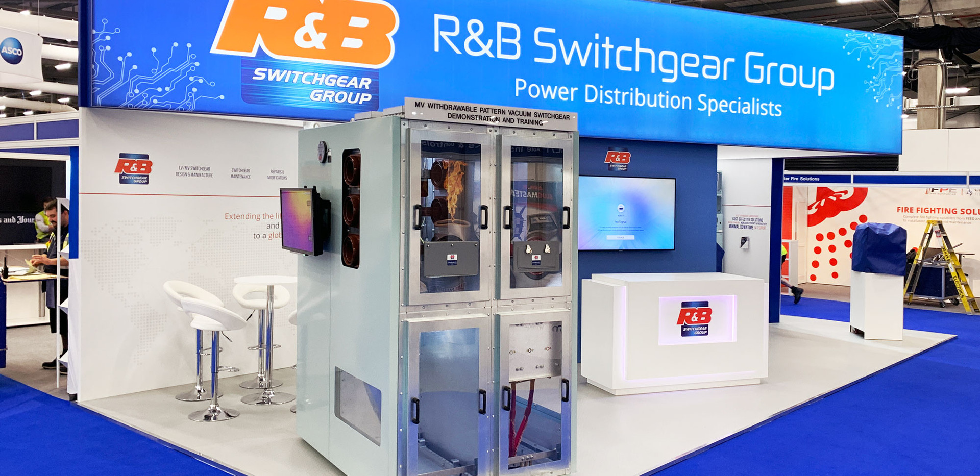 Custom Exhibition Stand RB Switchgear OE 2019