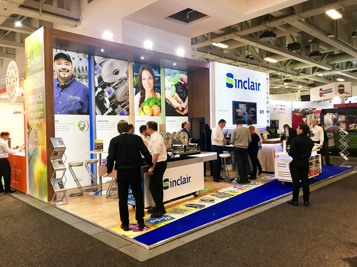 Custom Exhibition Stand Sinclair at Fruit Logistica 2019