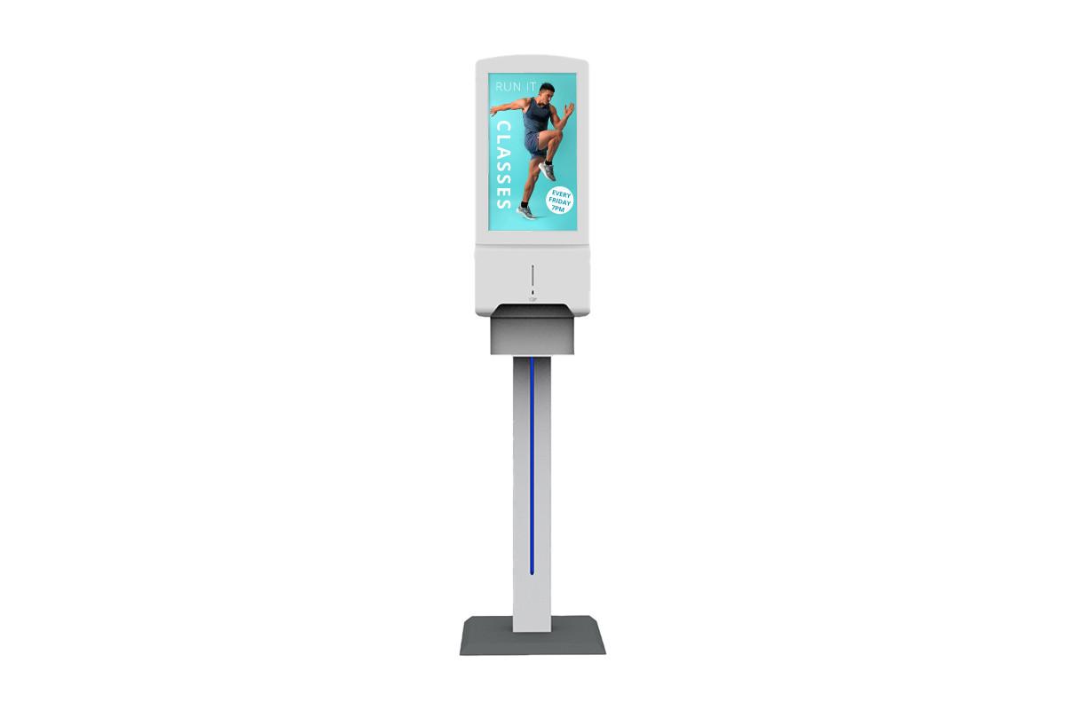 Free Standing Digital Hand Sanitiser Unit