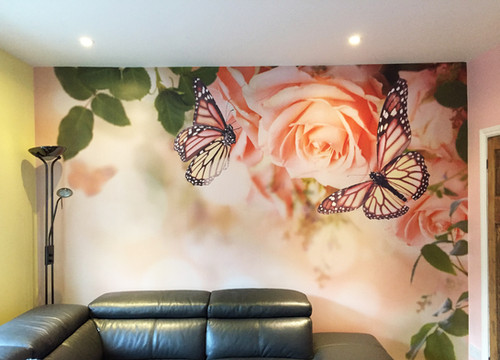 Custom Designed Decorative Residential Wall Covering