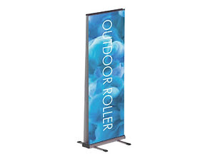 Outdoor Roller Banner Stand from Image Display and Graphics Norfolk