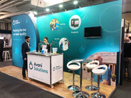 Small Custom Exhibition Stand for Avani Solutions - PUB 2019