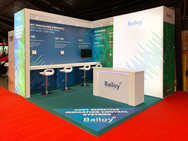 Custom Exhibition Stand - Bailoy BTME 2019