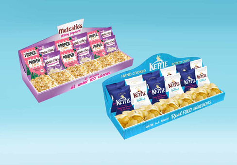 Product Display Design for Kettle Foods