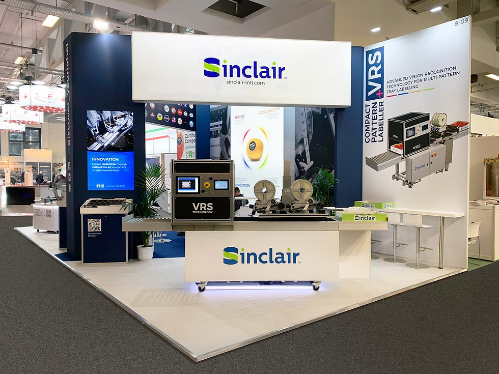 Custom Exhibition Stand Design and Build at Fruit Logistica