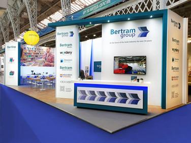 Large Custom Exhibition Stand - Bertram Group