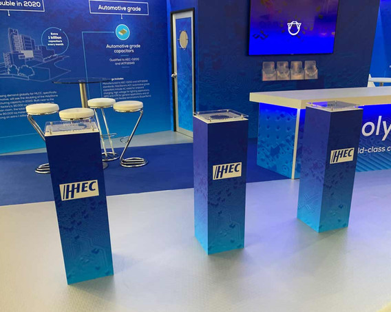 Custom Exhibition Stand Product Displays Holystone Electronica 2018