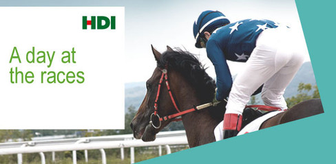 Day at the Races Email Design for HDI