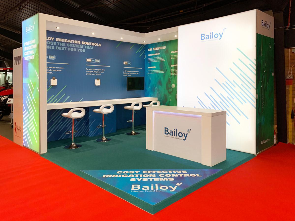 Custom Modular Exhibition Stand Bailoy at BTME 2019