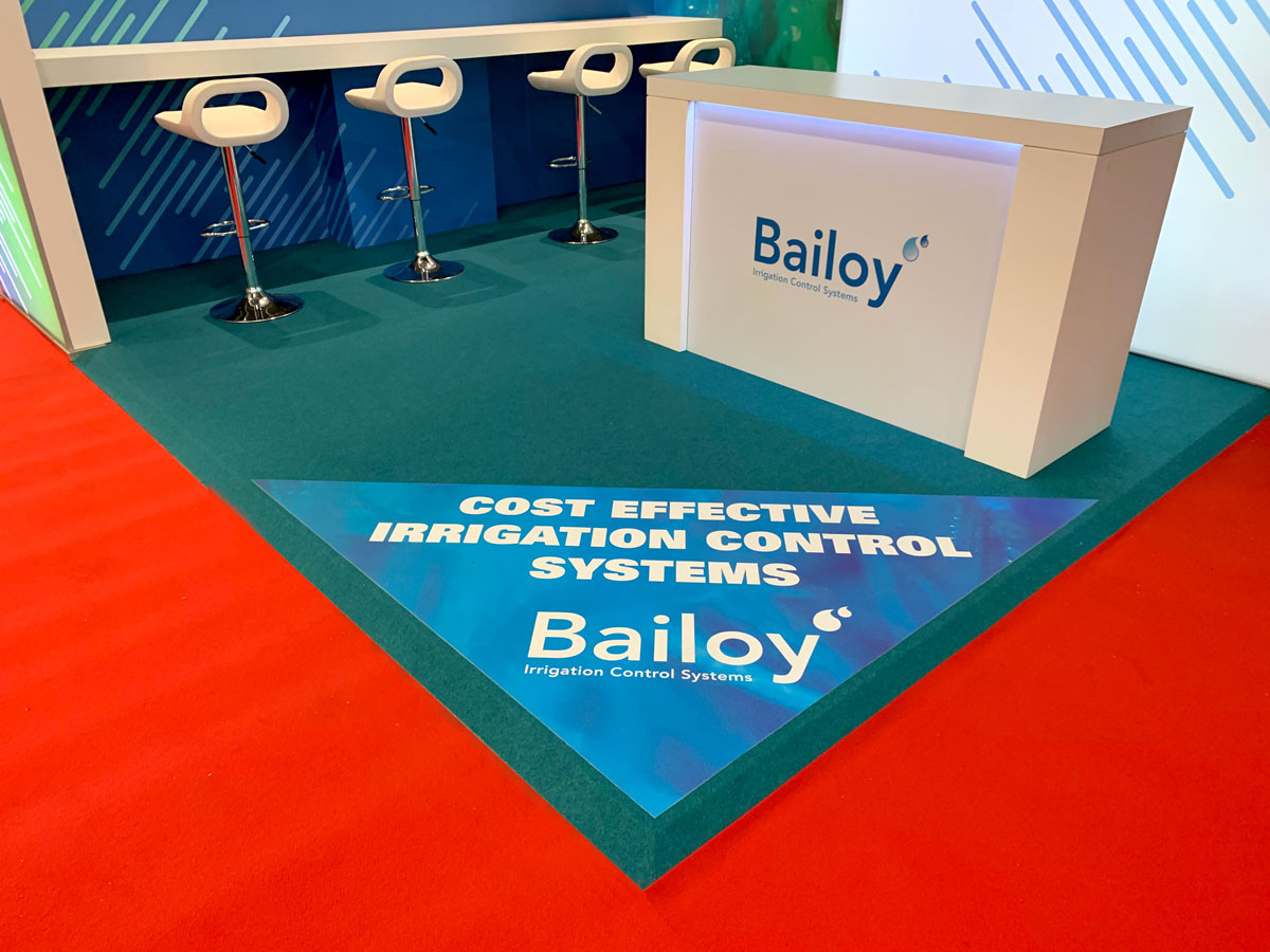 Exhibition Stand Floor Graphic Bailoy at BTME 2019