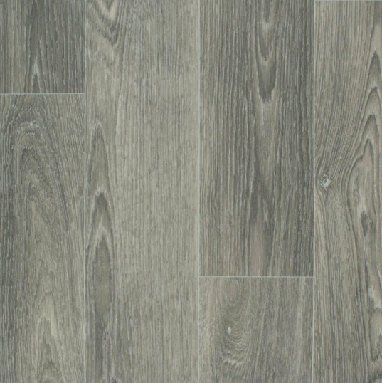 Standard Grey Wood Plank Vinyl Garden Room Flooring
