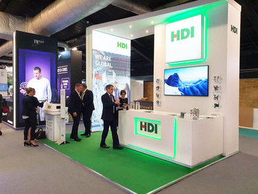 Custom Exhibition Stand - HDI at Airmic 2019