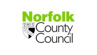 Norfolk County Council logo Construction
