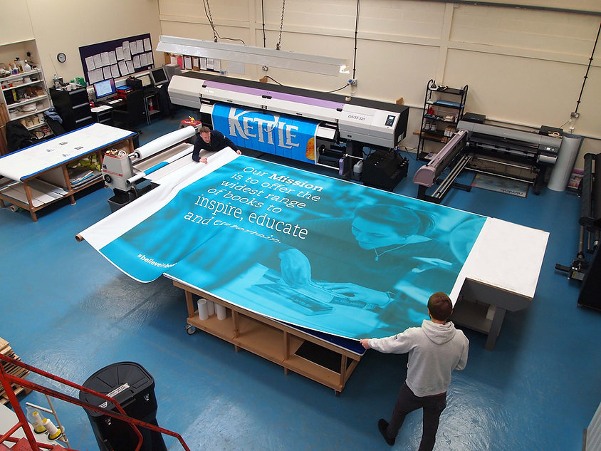 Large Format Graphic Production at Image Display