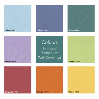 Colours Garden Room Wall Covering Selection