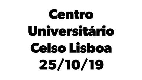 Palestra Centro Universitário Celso Lisboa - RJ