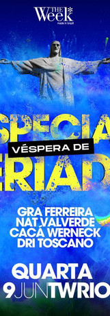 TWSP - Especial Véspera de Feriado - 19/06/2019