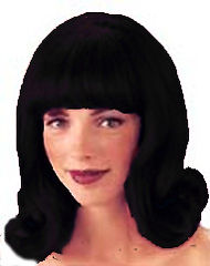60s Flick Out Wig - Black BW178.JPG