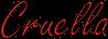Cruella Title  Redoutline.png