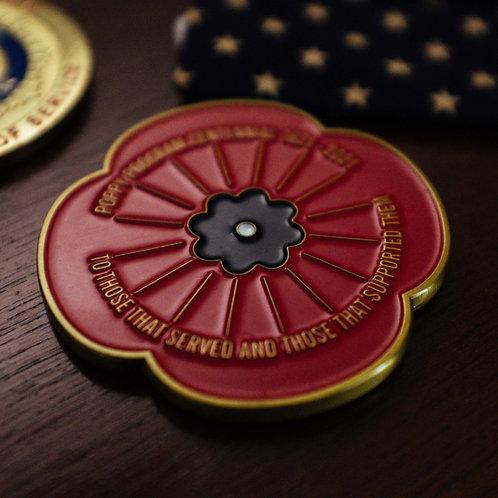 Auxiliary Poppy Coin