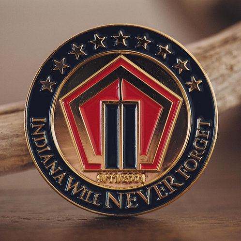 Indiana American Legion 9/11 Memorial Coin