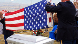 Indiana military funeral honors explained