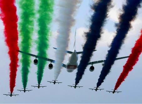 Visiting the Dubai Airshow 2017