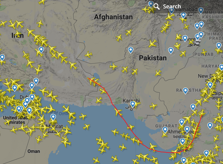 Pakistan partially opens airspace for west-bound flights from India
