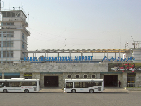 Hamid Karazi Kabul International Airport
