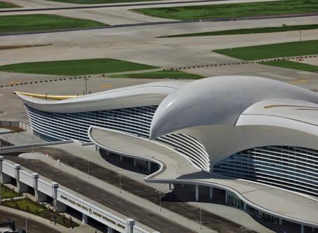 Turkmenistan's Architecturally Stunning Ashgabat International Airport